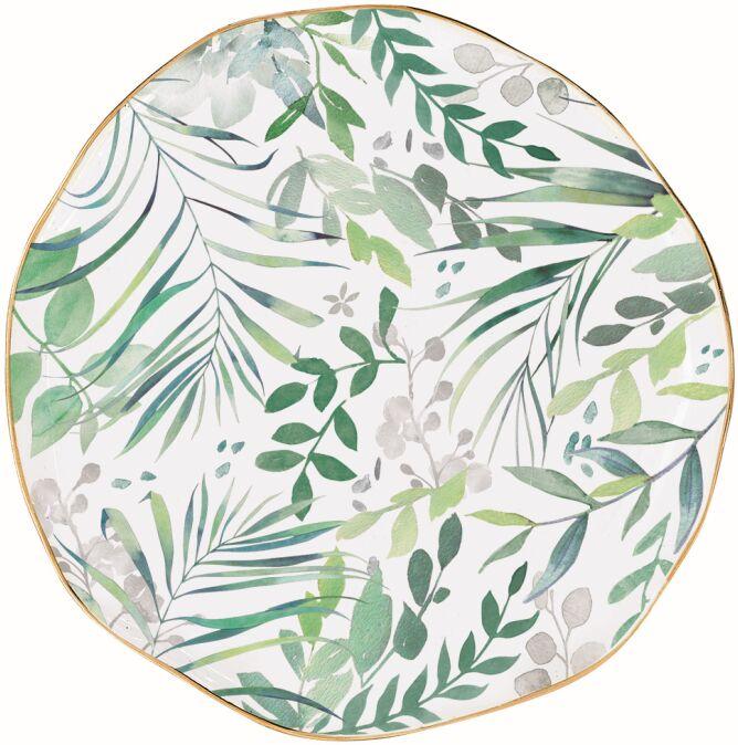 Easy Life/R2S, talerzyk przystawkowy - Amazonia, zielone listki