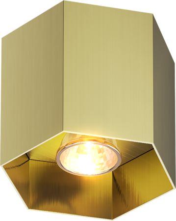 20035-GD POLYGON CL 1 SPOT ZŁOTY/GOLD