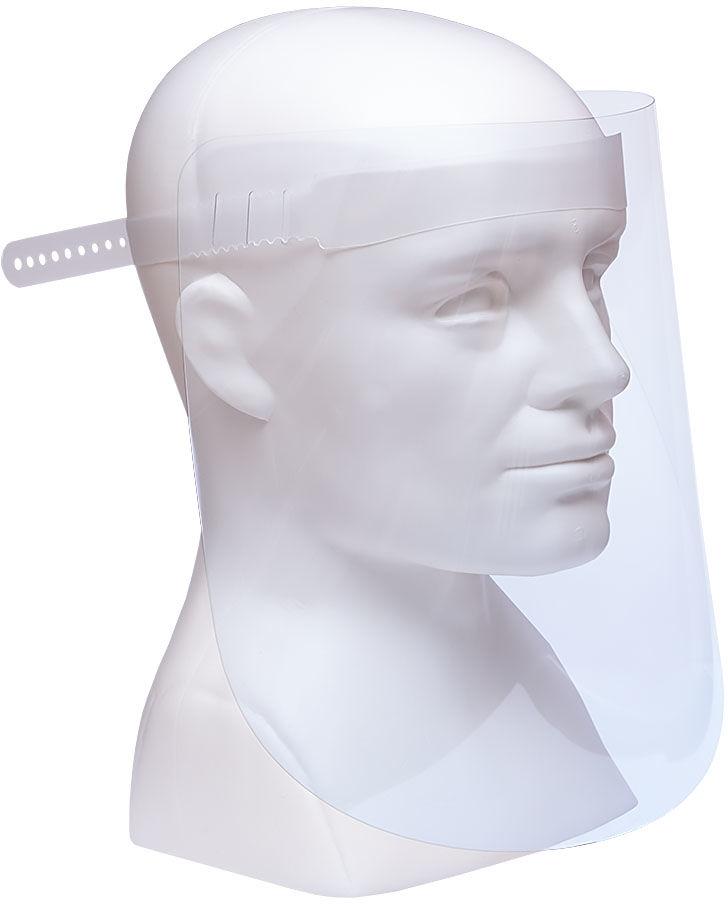10 x Przyłbica, ochronna osłona na twarz PET-G