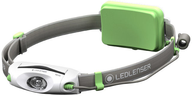 Latarka czołowa Ledlenser Neo 4 Green - 240 lumenów T