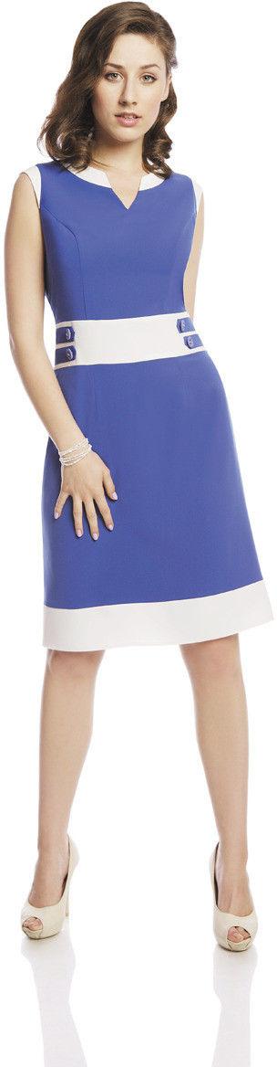 Sukienka FSU269 CHABROWY JASNY EKRI