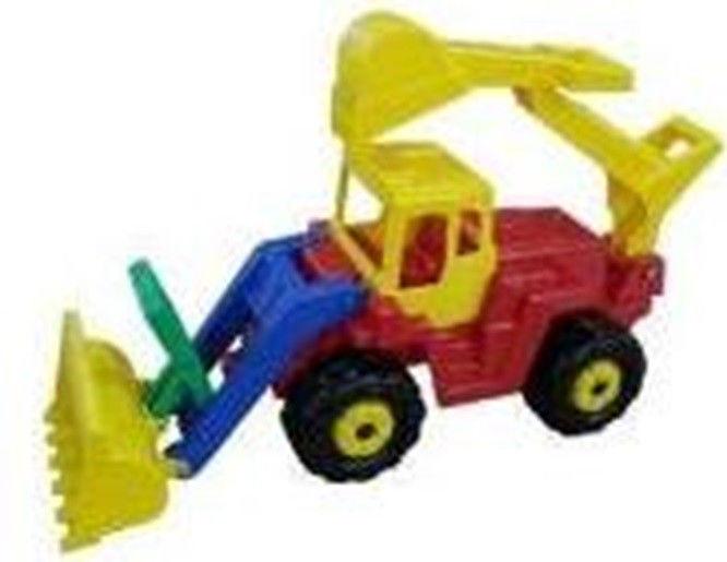 Pojazd Batyr,traktor-koparka