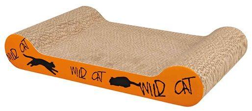 Trixie Drapak kartonowy Wild Cat - pomarańczowy