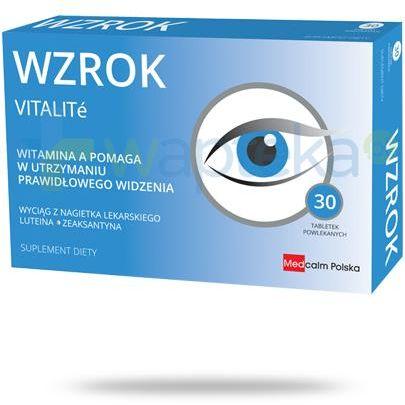 Vitalite Wzrok 30 tabletek