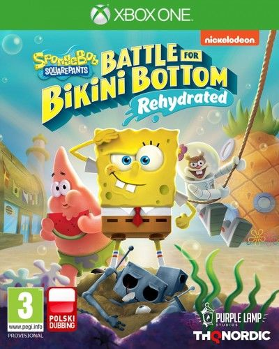 SpongeBob SquarePants: Battle for Bikini Bottom - Rehydrated XOne