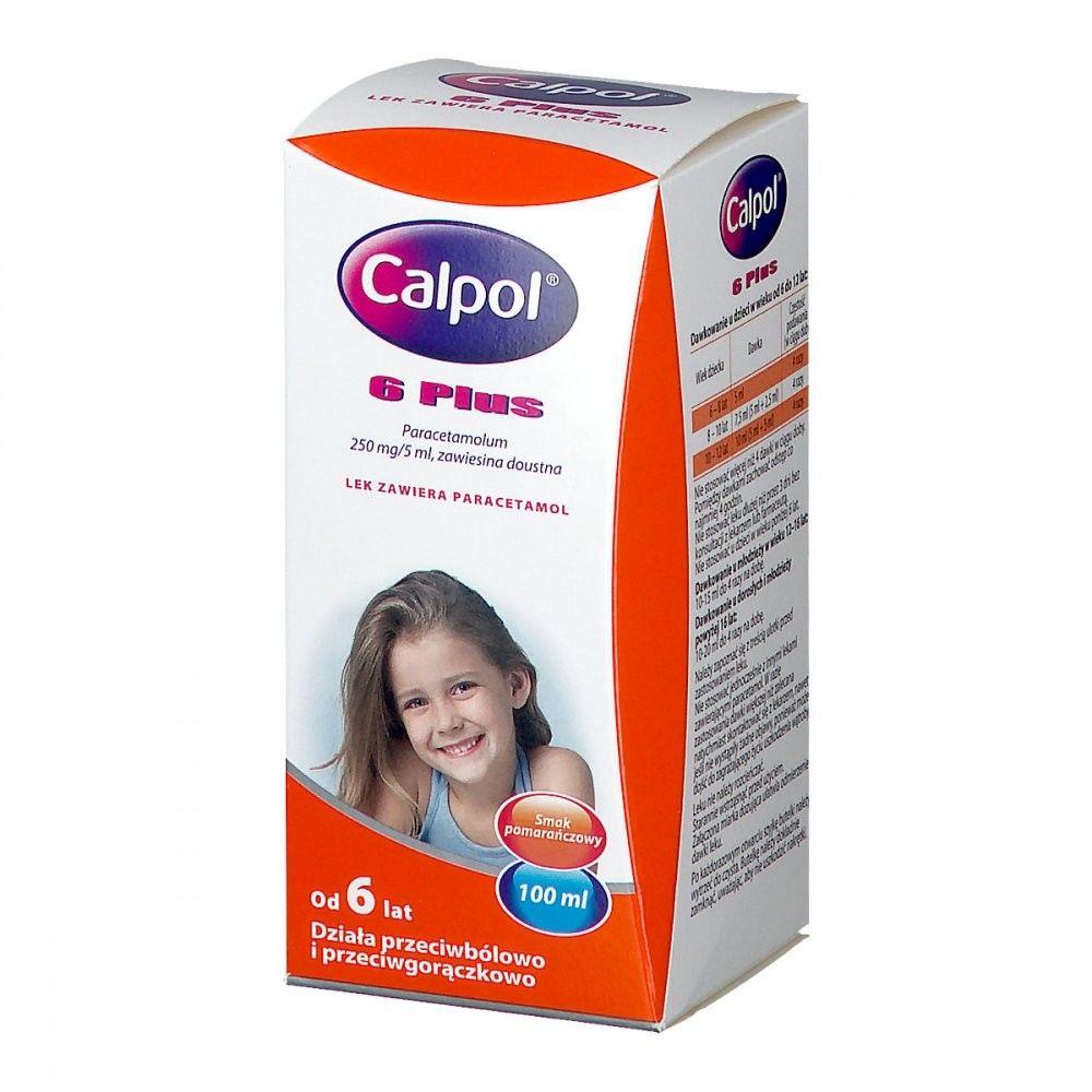 Calpol 6 Plus zawiesina dla dzieci