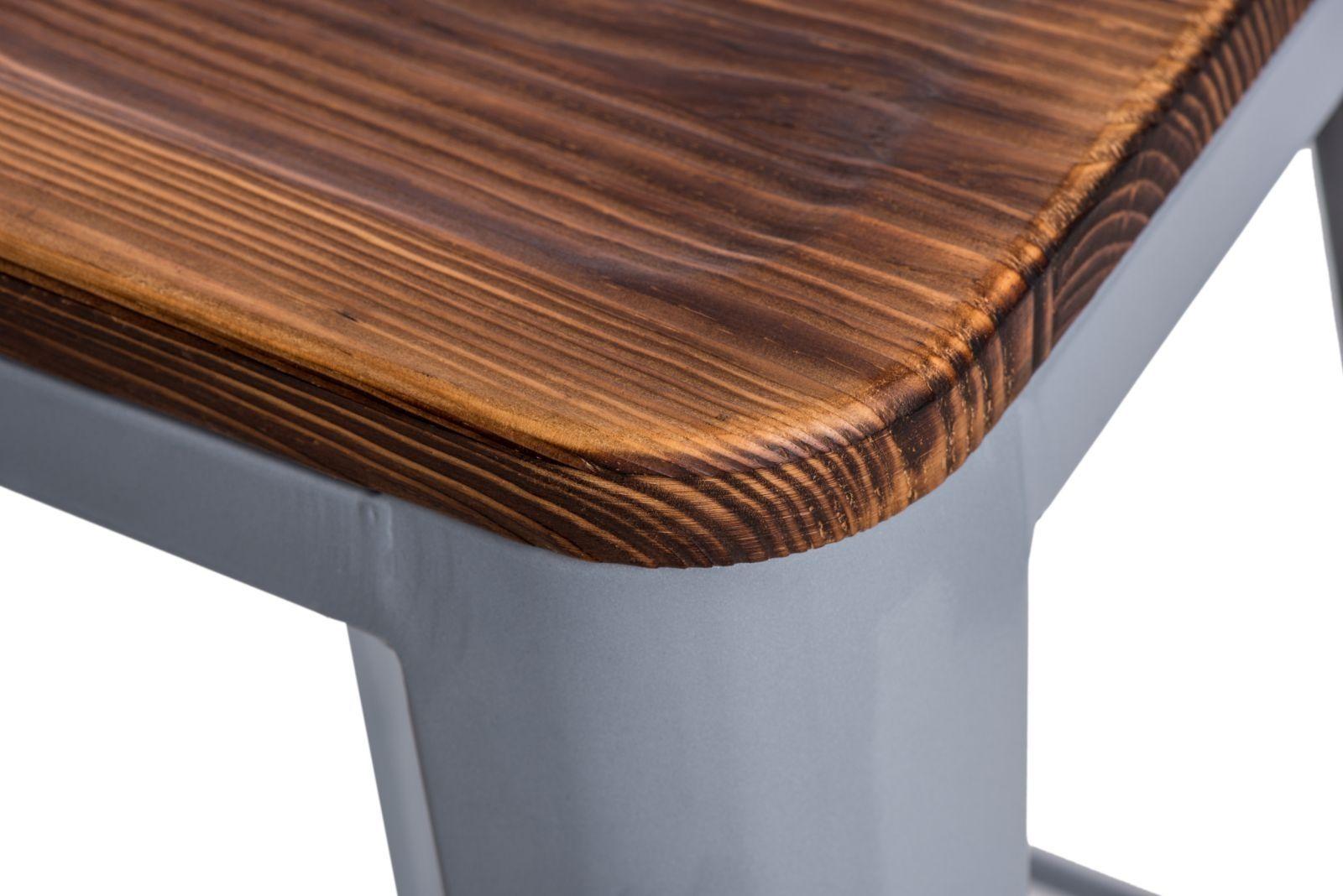 D2 Hoker Paris Wood 75cm srebrny sosna