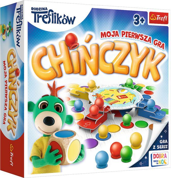 Moja pierwsza gra - Chińczyk Trefliki