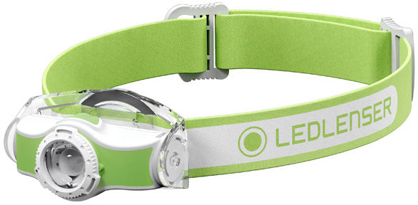 Latarka czołowa Ledlenser MH3 White/Green - 200 lumenów T