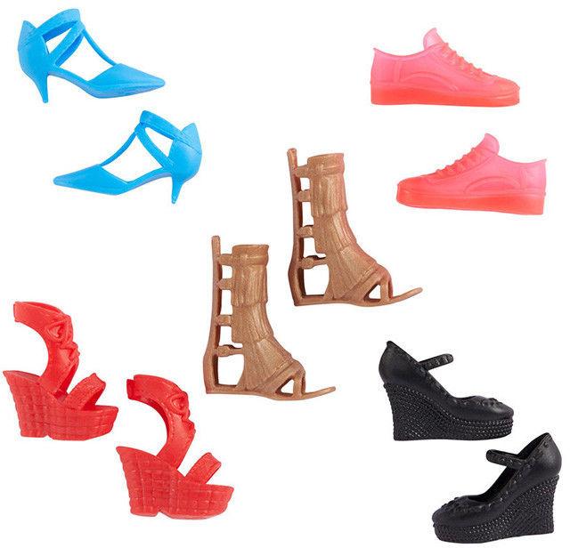 Barbie - Modne buty dla lalki GXG02