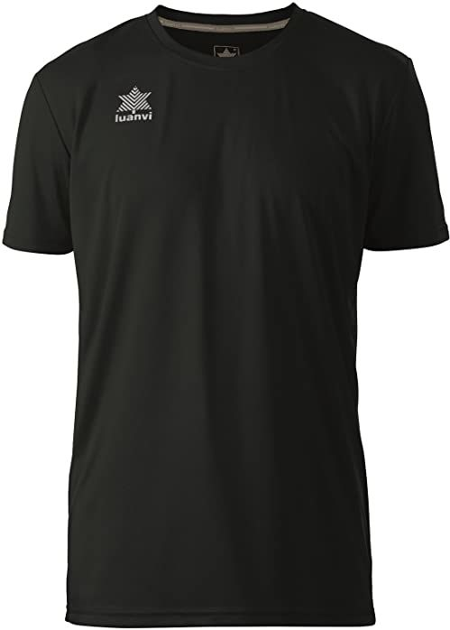 Luanvi Pol koszulka męska z krótkim rękawem S czarna