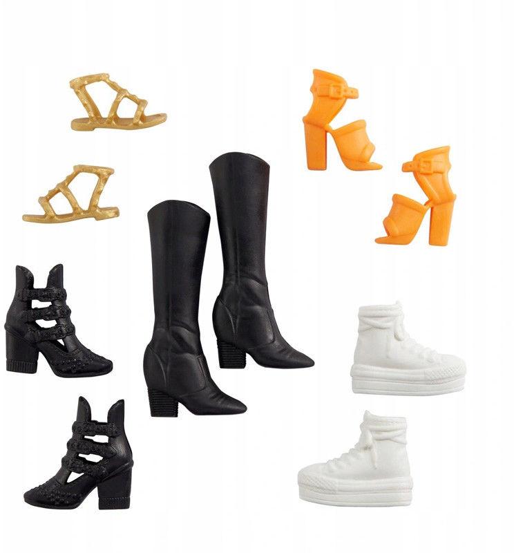 Barbie - Modne buty dla lalki GXG01