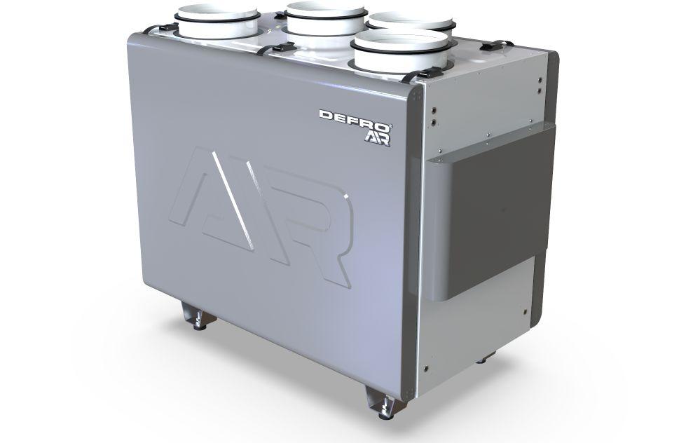 REKUPERATOR DRX 500 V - do 550 m3/h