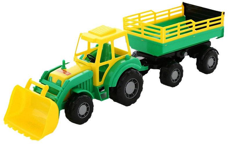 Pojazd Altaj, traktor z przyczepą Nr2 i łyżką