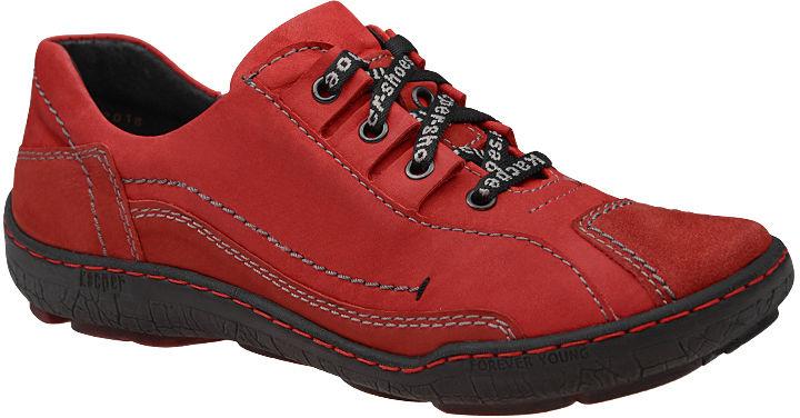 Półbuty KACPER 2-3891-102+489 Czerwone damskie trekkingowe