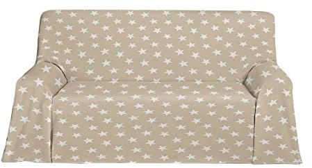 Martina Home narzuta polarowa, wielofunkcyjna, tkanina, beżowa, 270 x 300 x 3 cm