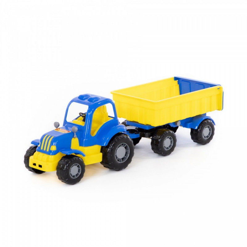 Siłacz, traktor z przyczepą Nr1