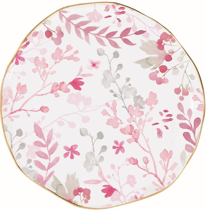 Easy Life/R2S, talerzyk przystawkowy - Paradise, różowe listki