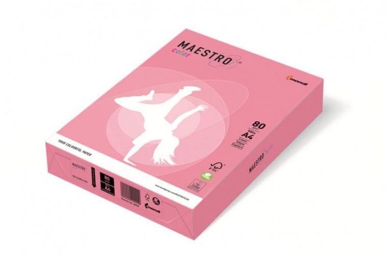 Papier Mondi MAESTRO Color Pastell - OPI74 - flamingo (A4/80 g/m2) - 5 ryz (OPI74)