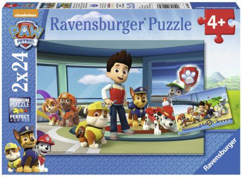 Ravensburger - Puzzle Psi Patrol Prubble i przyjaciele 2 x 24 elem. 090853