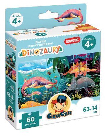 Puzzle panoramiczne Dinoraury