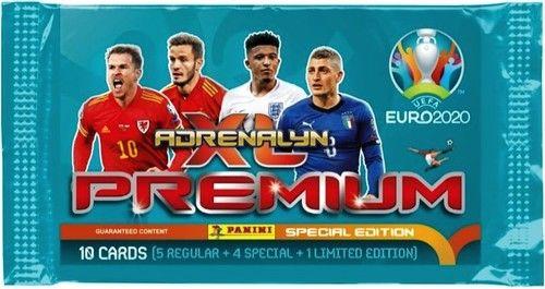 Karty Premium Adrenalyn XL EURO 2020 saszetka ZAKŁADKA DO KSIĄŻEK GRATIS DO KAŻDEGO ZAMÓWIENIA
