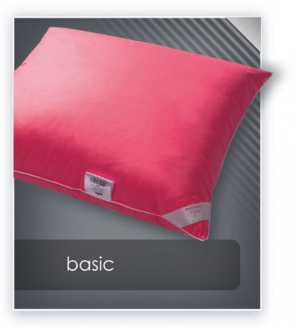 AMZ BASIC poduszka puch 70% 40x40