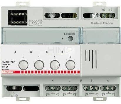 My Home - Aktor 4-przekaźnikowy ON/OFF Legrand BMSW1003