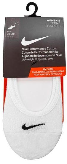 Nike Zestaw 3 par stopek damskich SX4863 101 Biały