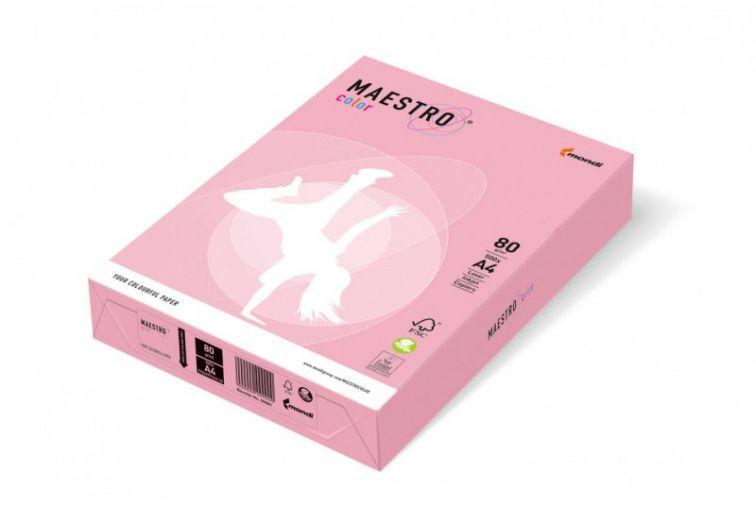 Papier Mondi MAESTRO Color Pastell - PI25 - różowy (A4/80 g/m2) - 5 ryz (PI25)