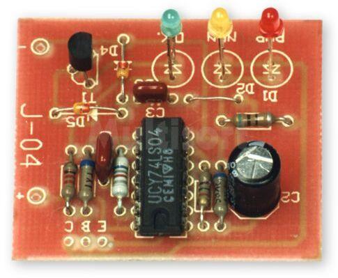 Próbnik diod i tranzystorów (do montażu)