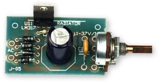 Zasilacz z napięciem regulowanym 1,2V-37V/1,5A (do montażu)