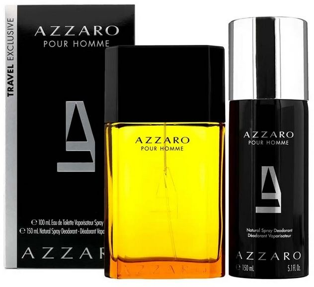 Azzaro Pour Homme dezodorant w sprayu 150ml + woda toaletowa - 100ml