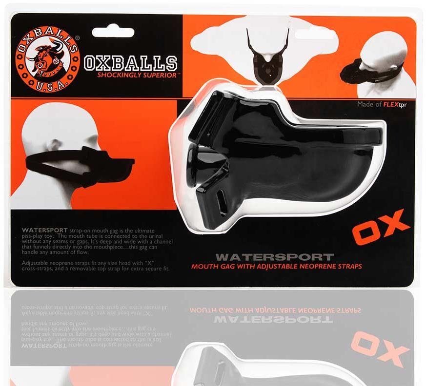 Oxballs Watersport Strap-On Gag Black