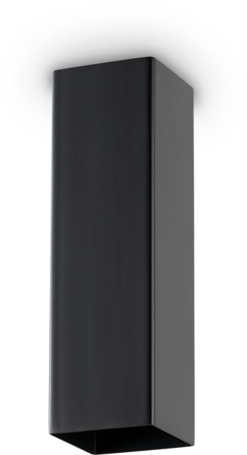 Plafon Sky 233765 Ideal Lux nowoczesna oprawa w kolorze czarnym