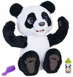 Hasbro FurReal Friends E85935S0 FurReal Plum, Mein Knuddelpanda, interaktywna pluszowa zabawka, od 4 lat