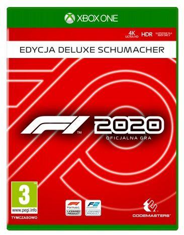 F1 2020 Edycja Deluxe Schumacher XOne