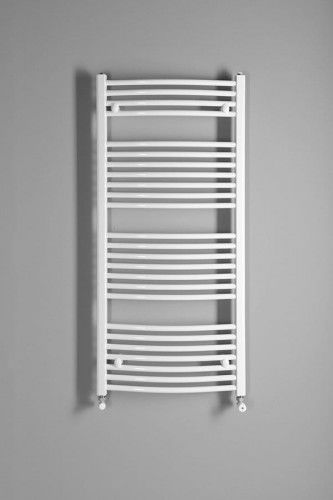 Grzejnik łazienkowy 45x132cm 572W biały c.o lub elektryczny