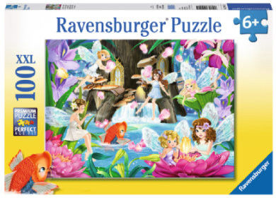 Ravensburger - Puzzle Magiczny wieczór wróżek 100 el. 109425