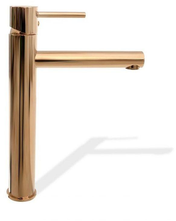 Bateria umywalkowa wysoka różowe złoto Tess Rea (REA-B8804)