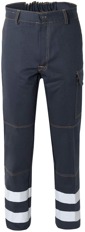 Rossini Trading A00106 spodnie z paskami odblaskowymi dla dorosłych XXL niebieskie
