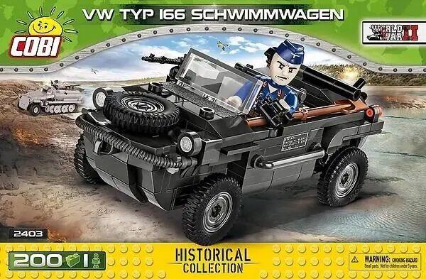 HC WWII VW Typ 166 Schwimmwagen - Cobi