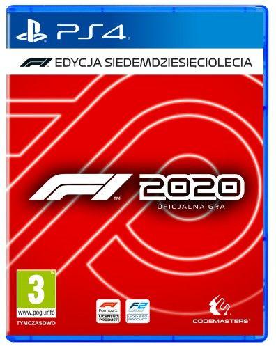 F1 2020 Edycja Siedemdziesięciolecia PS 4