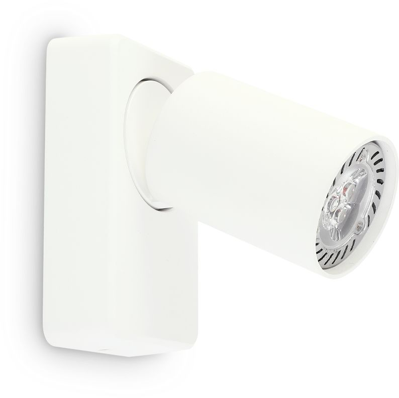 Kinkiet Rudy 229027 Ideal Lux nowoczesna oprawa w kolorze białym