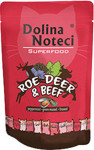 DOLINA NOTECI Superfood sarna i wołowina saszetka 10x85g