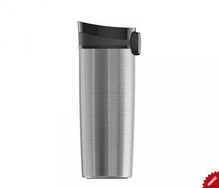 Kubek termiczny Miracle Mug Brushed 470 ml (stalowy)