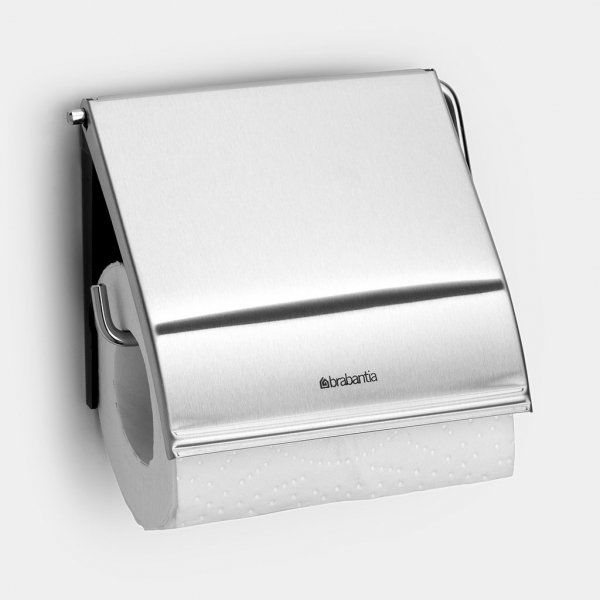 Uchwyt na papier toaletowy CLASSIC Matt Steel