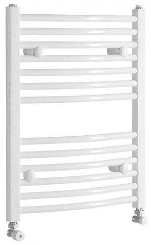 Grzejnik łazienkowy 50 x 65cm 319 W biały c.o lub elektryczny
