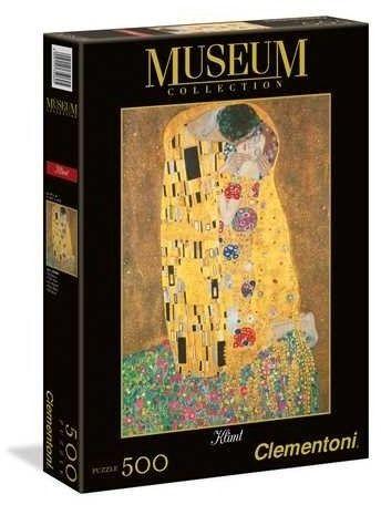Puzzle Clementoni 500 - Klimt -Pocałunek - Il Bacio - The Kiss
