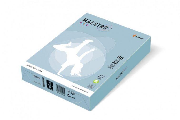 Papier Mondi MAESTRO Color Pastell - OBL70 - błękit arktyczny (A4/80 g/m2) - 5 ryz (OBL70)